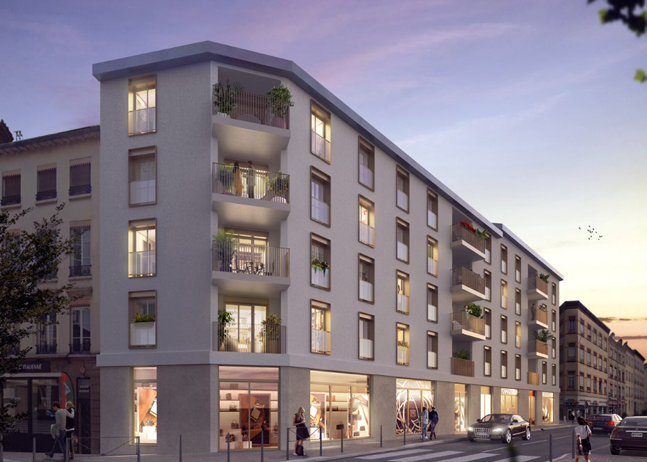 programme immobilier neuf faubourg valmy à lyon 9