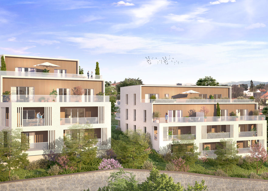 programme immobilier neuf Cristal a Champagne au Mont d'Or